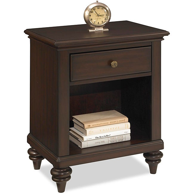 Home Styles Bermuda Night Stand Espresso Finish