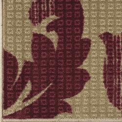 Somette Sweet Dreams Woven Plum Rug (5' x 7')