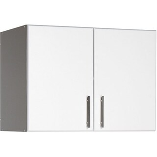 Prepac Winslow Elite 32-inch Stackable Wall Cabinet, Multiple Finishes