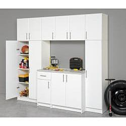 Winslow White 32 Inch Elite Stackable Wall Cabinet Free