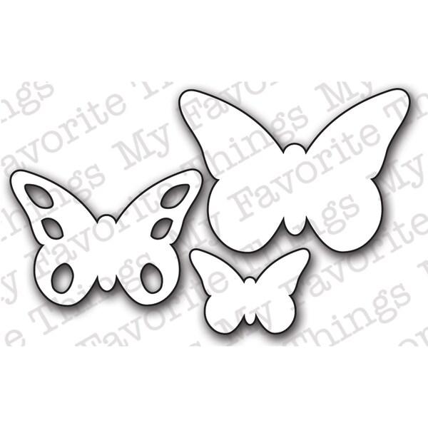 Die-Namics Die-Butterflies