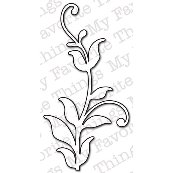 Die-Namics Die-Leafy Flourish