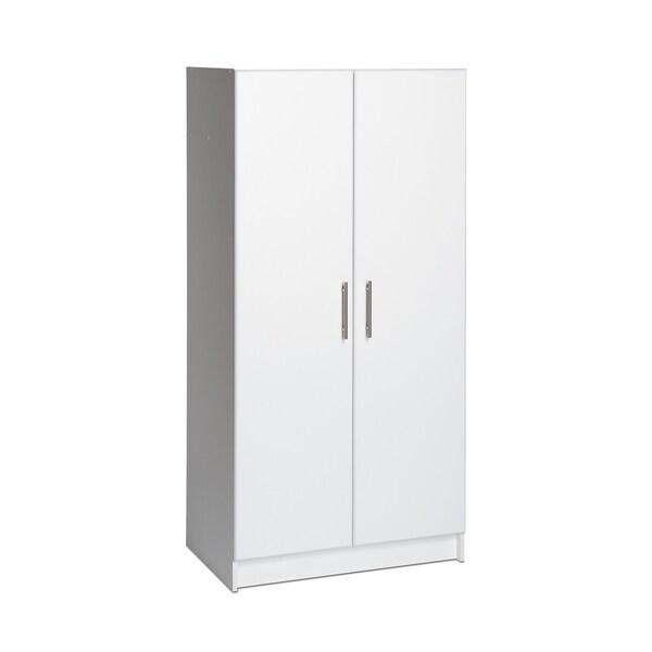 Winslow White 32-inch Elite Wardrobe Cabinet