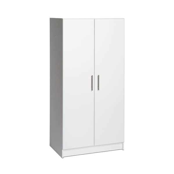 Winslow White 32-inch Elite Wardrobe Cabinet
