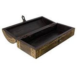 Wood Embossed Keepsake Box (India)
