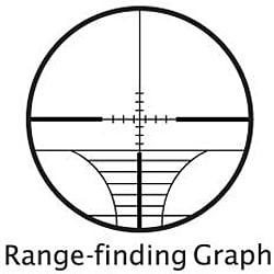Barska 8-32x50 Varmint Riflescope with Rangefinding Reticle - Thumbnail 1