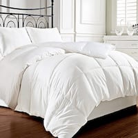 Hotel Grand Egyptian Cotton 400 Thread Count White Goose Down Comforter