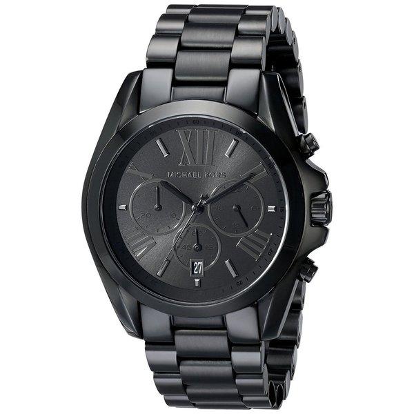 0c9eff7bc61 Shop Michael Kors Men s MK5550 Bradshaw Black Stainless Steel Watch ...