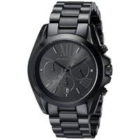 Michael Kors Men's MK5550 Bradshaw Black Stainless Steel Watch