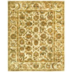 Safavieh Handmade Classic Ivory Wool Rug (9'6 x 13'6)