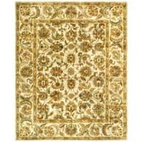 Safavieh Handmade Classic Ivory Wool Rug - 9'6 x 13'6