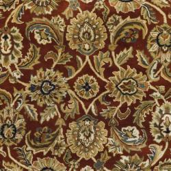 Safavieh Handmade Classic Rust/ Beige Wool Rug (8'3 x 11')