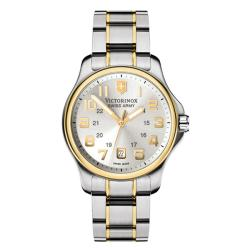 Victorinox Swiss Army Men's Officer's Two-Tone Dial Watch