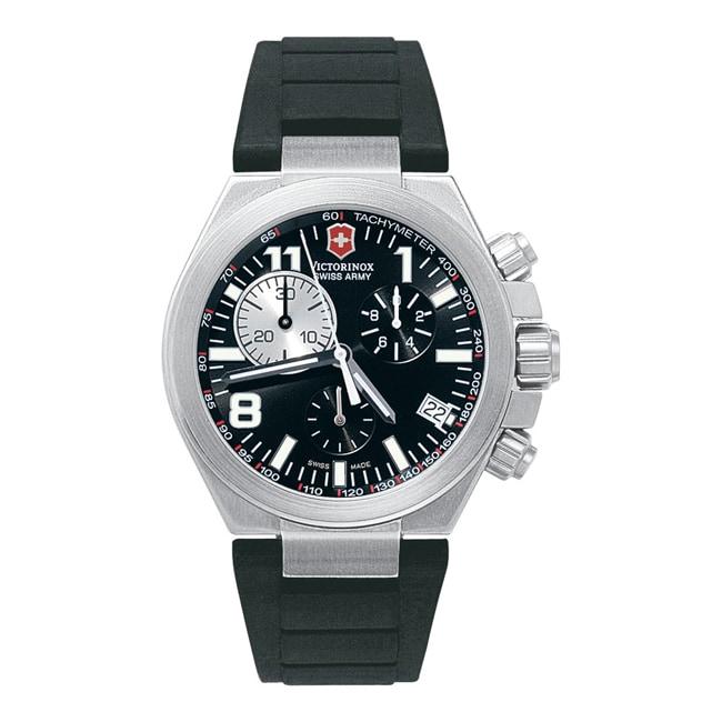 Victorinox Swiss Army Men's Convoy Black Dial Chronograph Watch