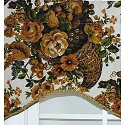 RLF Home Cotton Kingland Cornice Window Valance