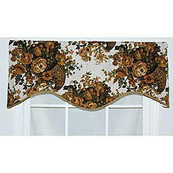 RLF Home Cotton Kingland Cornice Window Valance