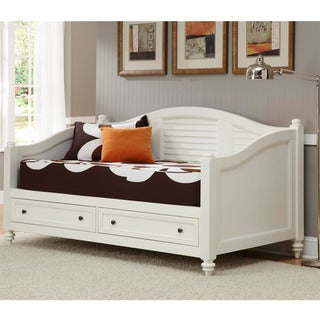 Bermuda Brushed White Finish Twin-size DayBed by Home Styles