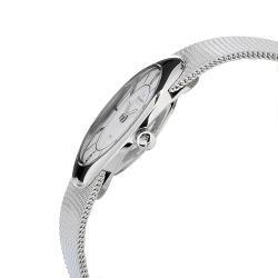 Skagen Women's Oval Case White Dial Stainless Steel Watch - Thumbnail 2