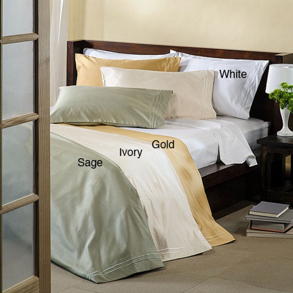 Superior Cotton 1600-thread Count Sateen Pillowcase Set