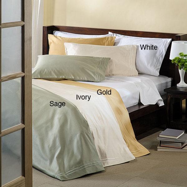 Superior Cotton 1600-thread Count Sateen Pillowcase Set