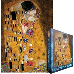 Jigsaw Puzzle 1000 Pieces -Klimt - The Kiss (der Kuss)