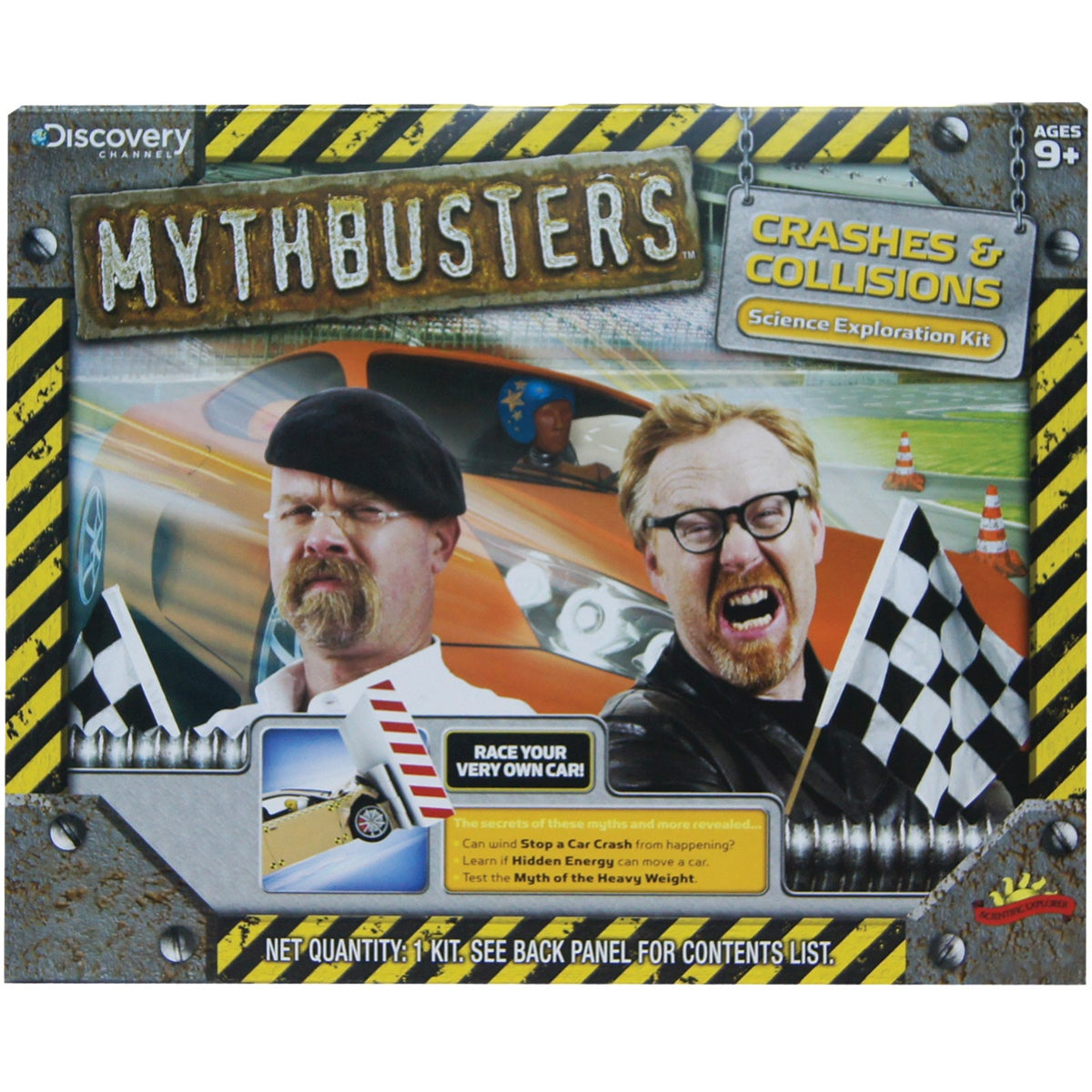 Mythbusters Crashes And Collisions Kit
