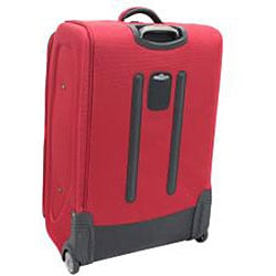 Kenneth Cole Reaction Front Row Red 29-inch Expandable Wheeled Upright Luggage - Thumbnail 1