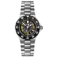 Victorinox Swiss Army Women's Summit XLT Black Dial Stainless Bracelet Watch