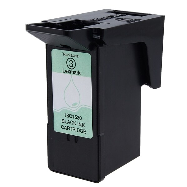 Lexmark 3/ 18C1530 Black Ink Cartridge (Remanufactured)