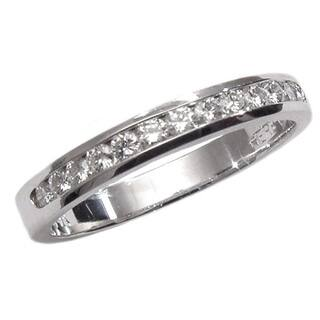 14k White Gold 1/4ct TDW Diamond Wedding Band (G, SI1)|https://ak1.ostkcdn.com/images/products/6722925/P14271190.jpg?impolicy=medium