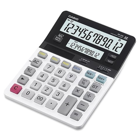 Casio D-220 Dual Display Calculator