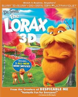 Dr. Seuss' The Lorax 3D (Blu-ray/DVD)
