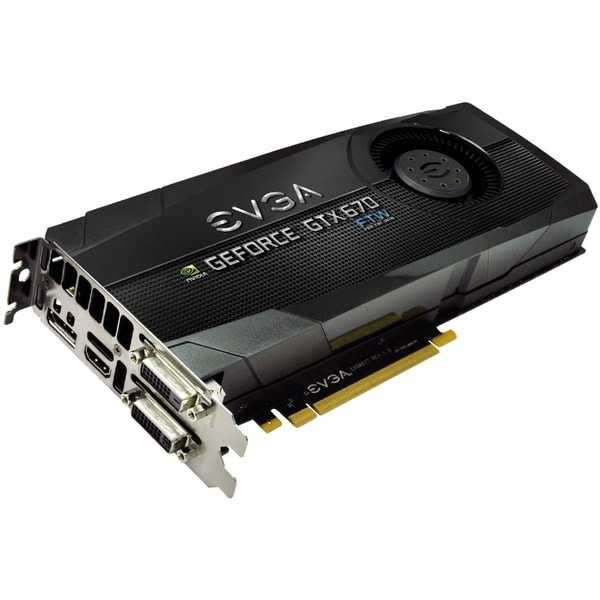 EVGA GeForce GTX 670 Graphic Card - 1.01 GHz Core - 2 GB GDDR5 - PCI