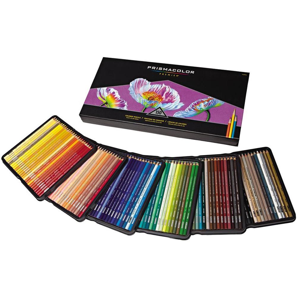 Sanford NOM207166 Prismacolor Premier Colored Pencils, 150 Per Pack
