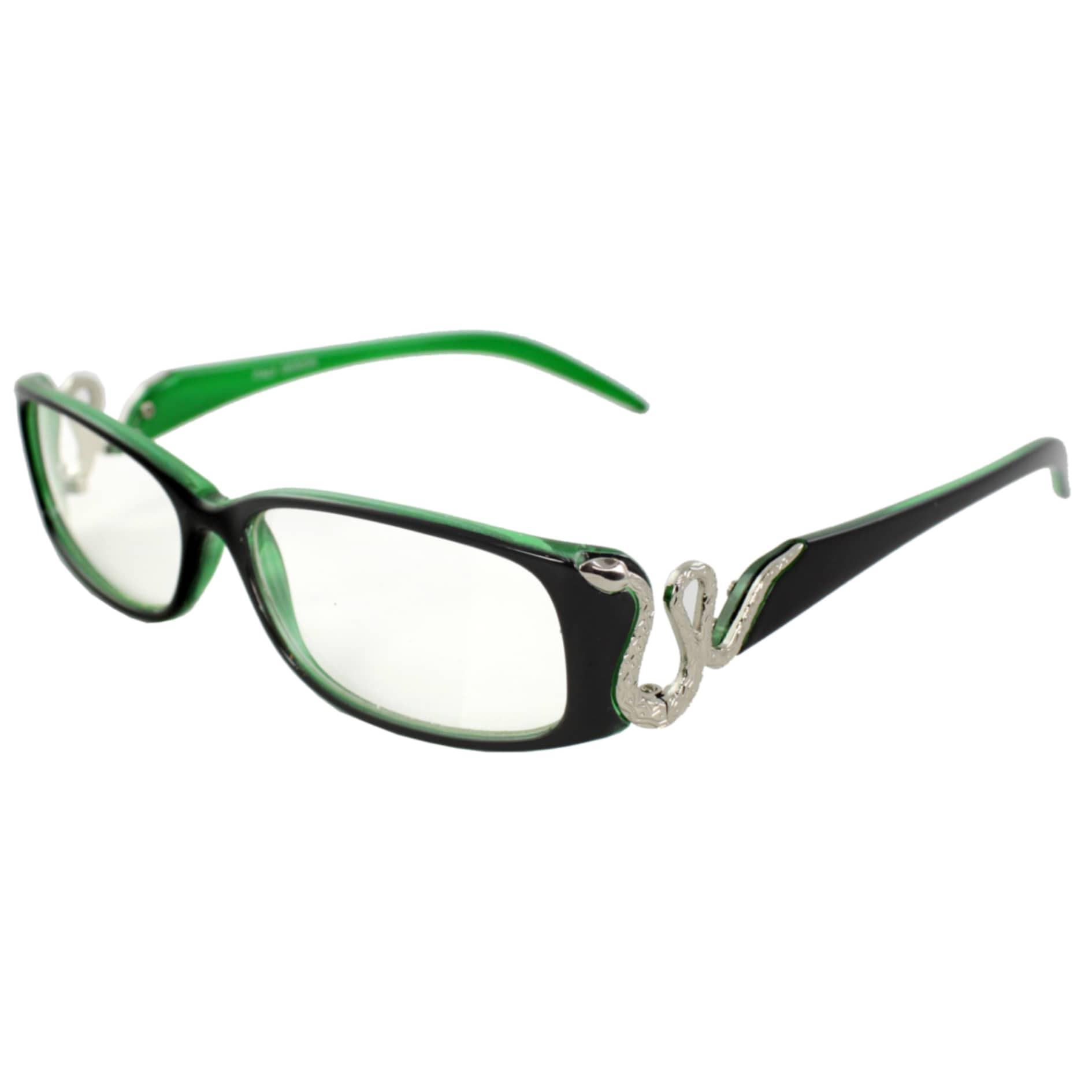 MLC Eyewear Men's PB828CL-BKGNCL Black/Green Clear Sunglasses