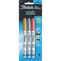 Sharpie Metallic Paint Pen Extra-Fine 3/Pkg-Gold/Silver/Copper