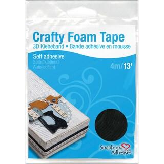 """3L Foam Tape 3/8"""" X 13' Roll-Black"""