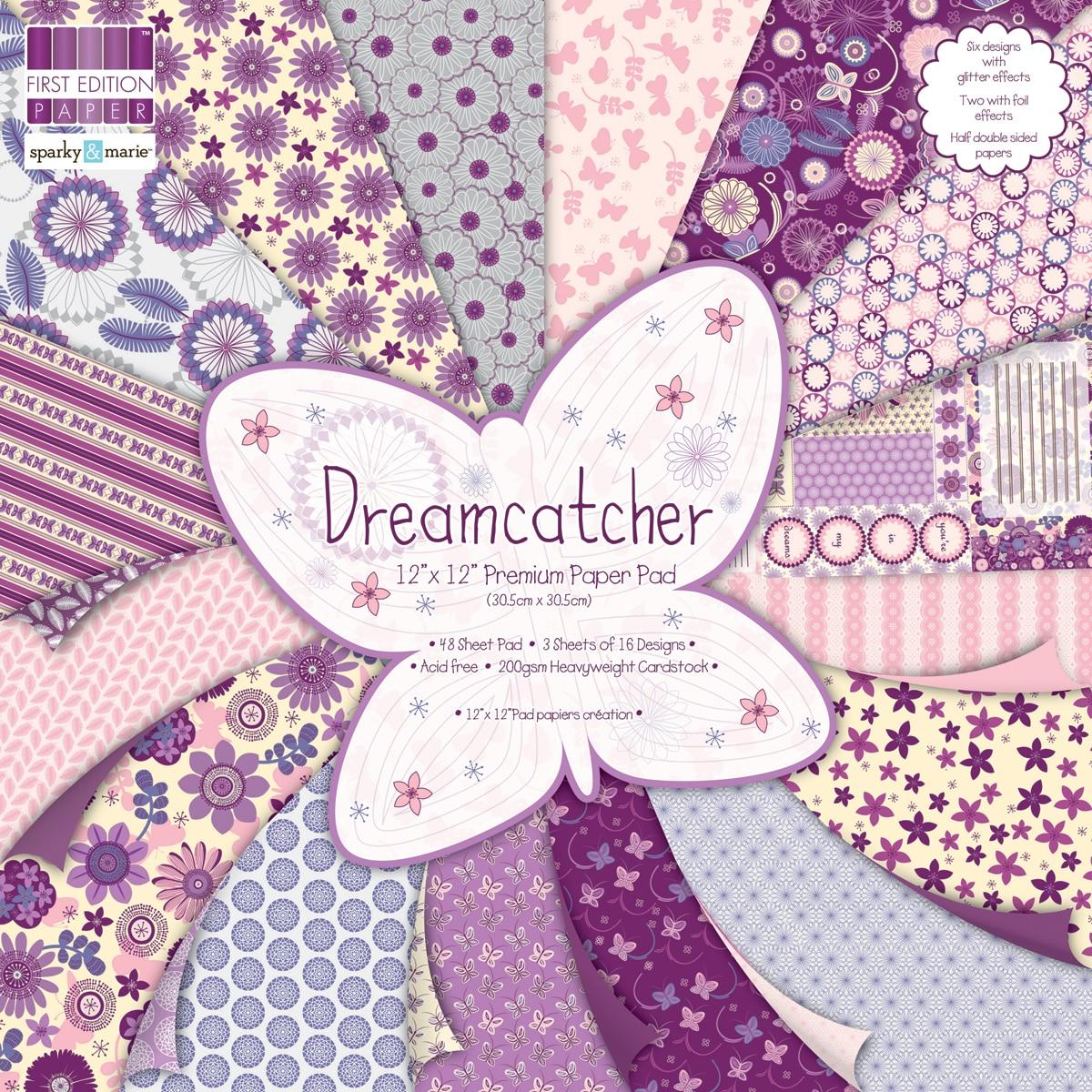 """Premium Paper Pad 12""""X12"""" 48/Sheets-Dreamcatcher"""