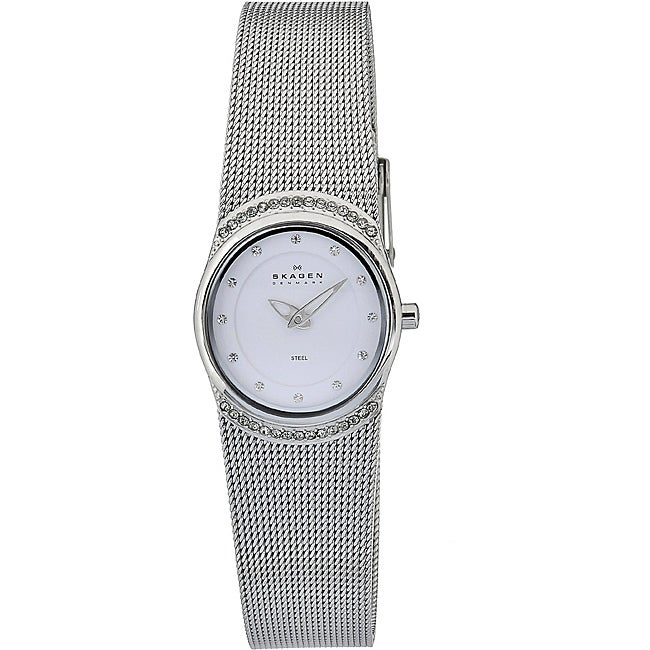 509b4f080 Shop Skagen Women's Element White Dial Watch - Free Shipping Today ...