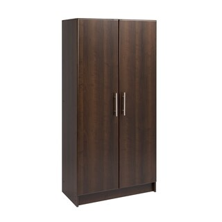 Prepac 'Winslow Elite' 32-inch White 2-door Standing Cabinet (Option: Brown)