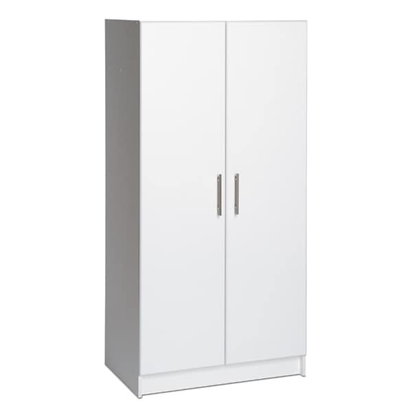 Prepac 'Winslow Elite' White 2-door Standing Cabinet