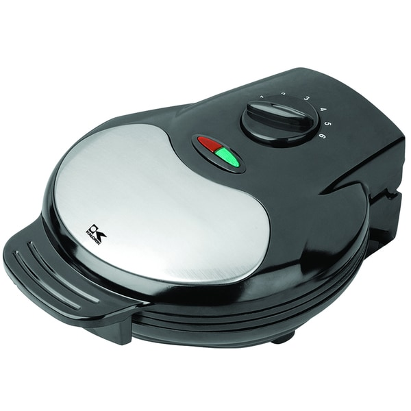 Kalorik Black Heart-shaped Waffle Maker (Refurbished)