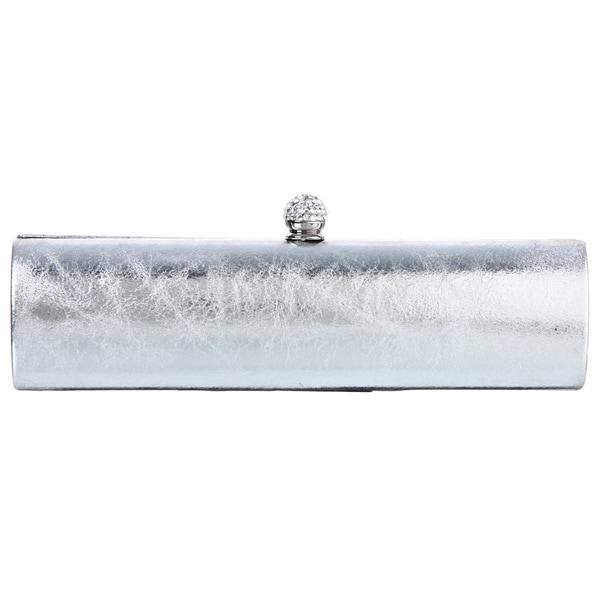 Carlo Fellini Shira Silver Evening Bag