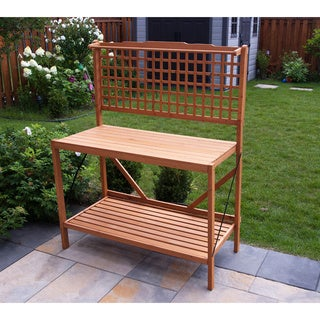 Merry Products Folding Potting Bench