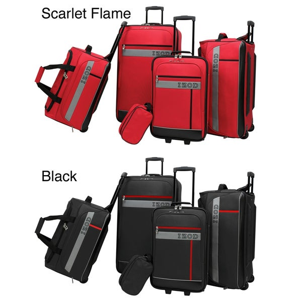 IZOD Metro 5-Piece Luggage Set