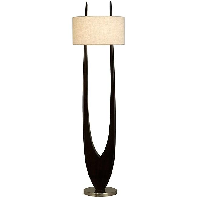 Nova 'Matilda' Pecan Floor Lamp