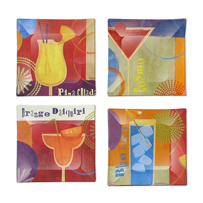 Notions by Jay Cocktail Plates (Set of 4)