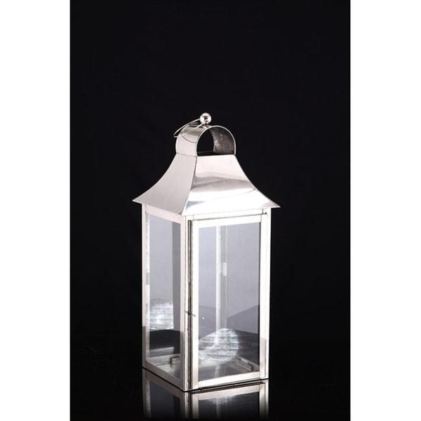 Square Medium Candle Lantern Lamp