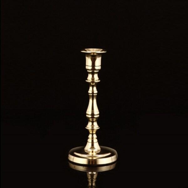 Oxford Brass Candlestick Holder