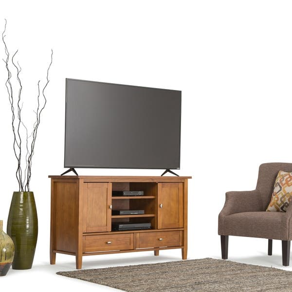 online store ae3c8 004d6 Shop WYNDENHALL Norfolk Solid Wood 47 inch Wide Rustic TV ...